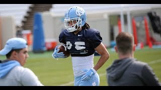 ICTV: First Look at UNC Wide Receivers