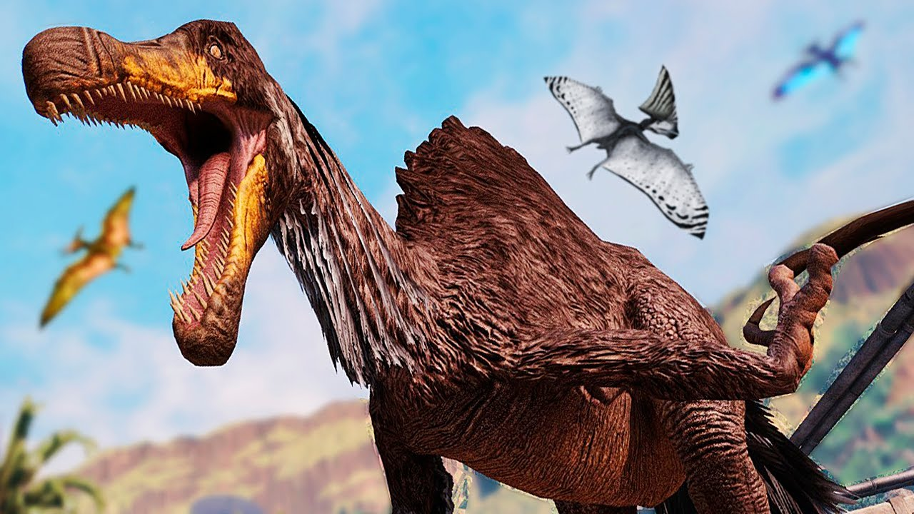 Download Jogando de Therizinossauro Mutante (TheriEspino)! Caçador de Dinossauros   Primal Carnage Extinction
