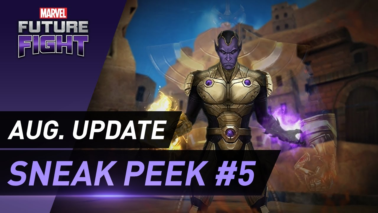 [MARVEL Future Fight] August Update Sneak Peek #5