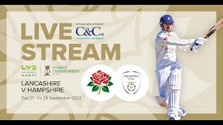 🔴 LIVE STREAM: Lancashire vs Hampshire |  Day 3 screenshot 4