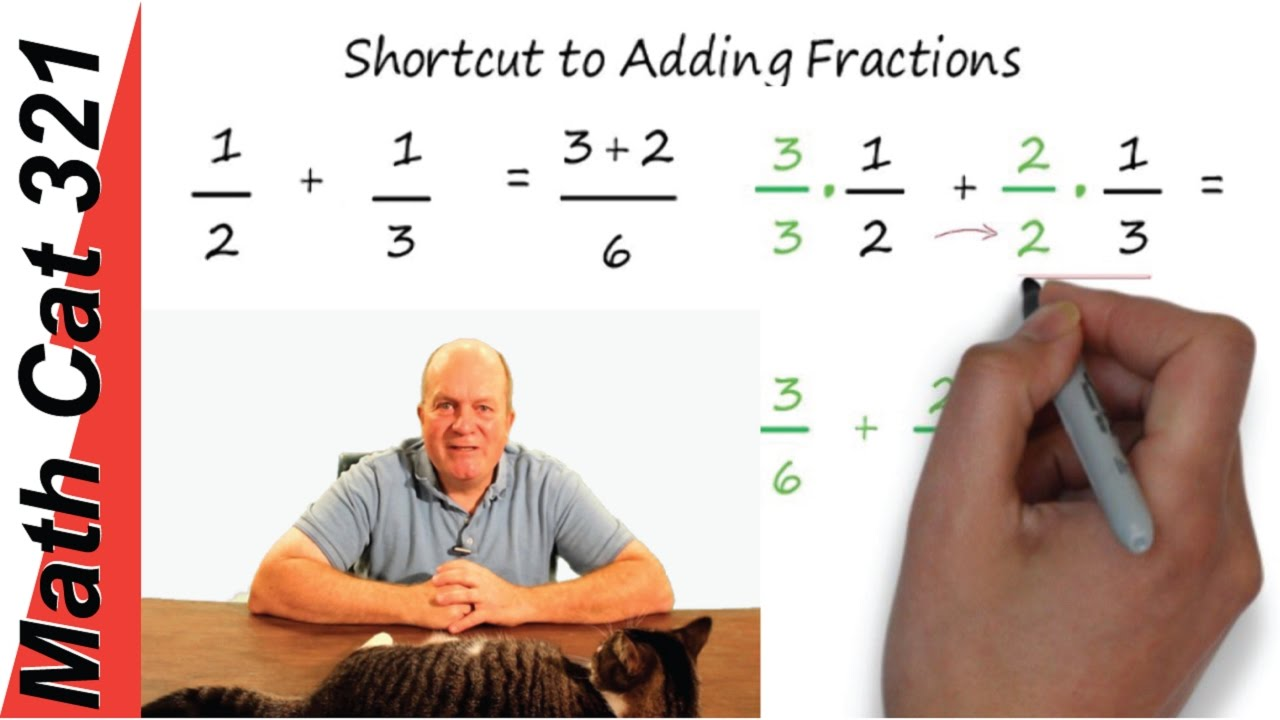 Shortcut To Adding Fractions  No Lcd  Math Hacks œ�
