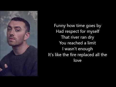 Sam Smith - Burning ★ LYRICS