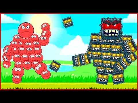 Мультфильм про красный шарик