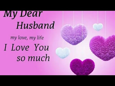 Happy Birthday To My Dear Hubby Wishes Husband
