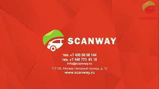 Реклама на авто Scanway
