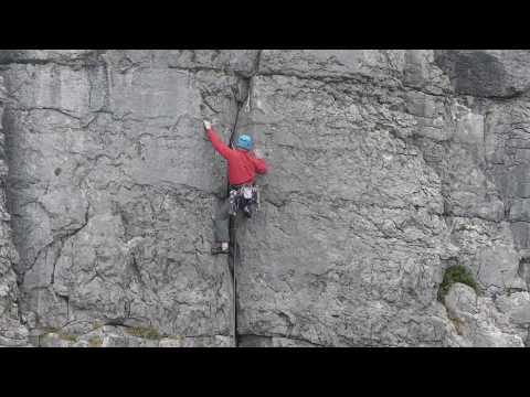 Rock Climbing in the Burren - County Clare - Ireland