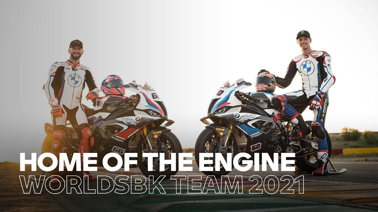 Download BMW Motorrad Motorsport WorldSBK Team 2021 – Home of the engine. Home of the team.
