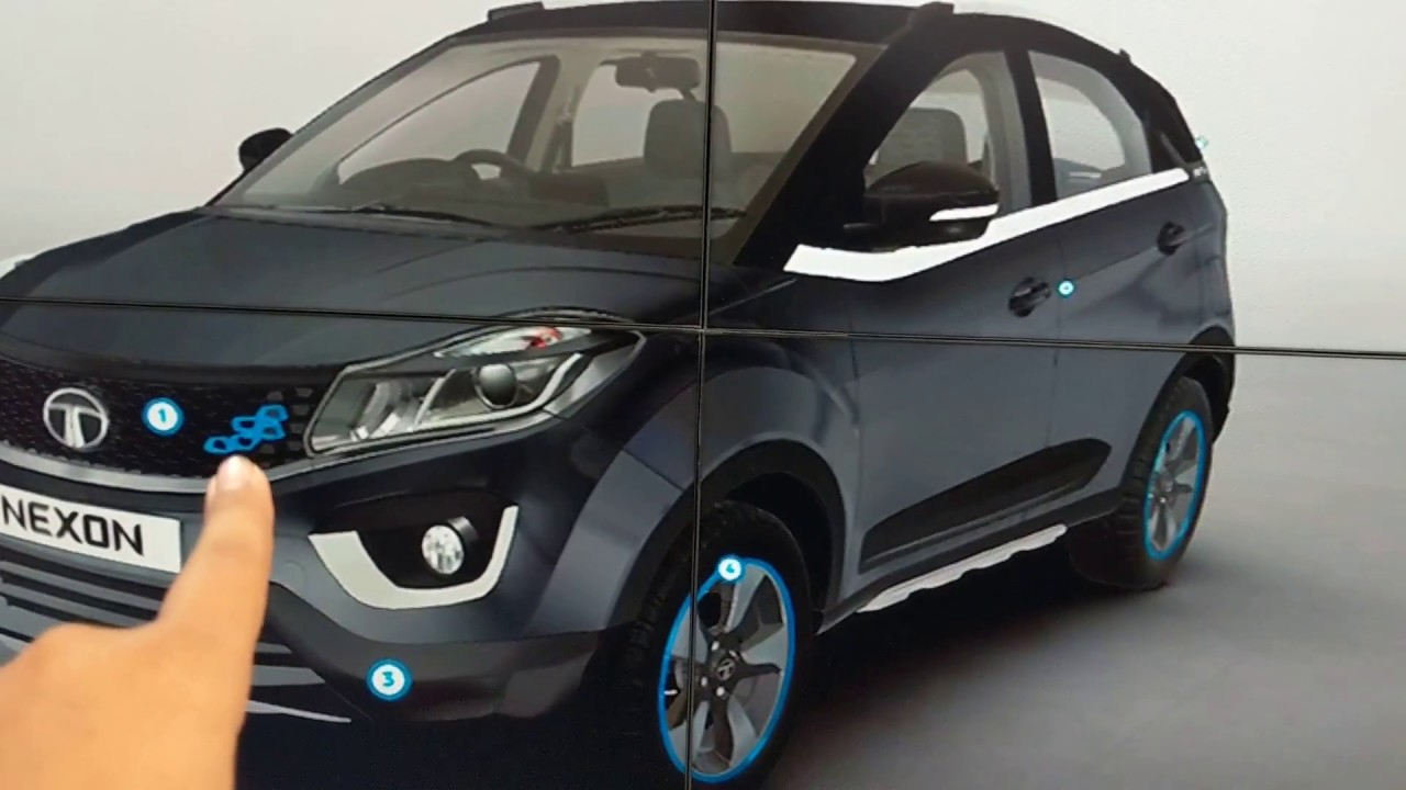 Tata Nexon Aktiv accessories in Hindi   Auto Expo 20   MotorOctane