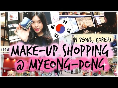 Come Make up Shopping with me in Myeong-Dong KOREA! | roseannetangrs