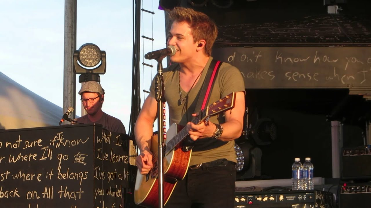 Hunter Hayes Storm Warning Va Beach 5/31/13