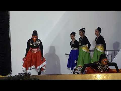 prize winning dance by govt law college ernakulam