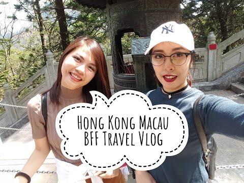 Hong Kong Macau BFF Travel Vlog | Plumpotatoes