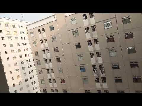 Pemandangan dari atas,  apartmen gading nias