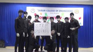 The best mimeing video for 'SMOKING AWARNESS' conducted in sairam college of engineering bangalore