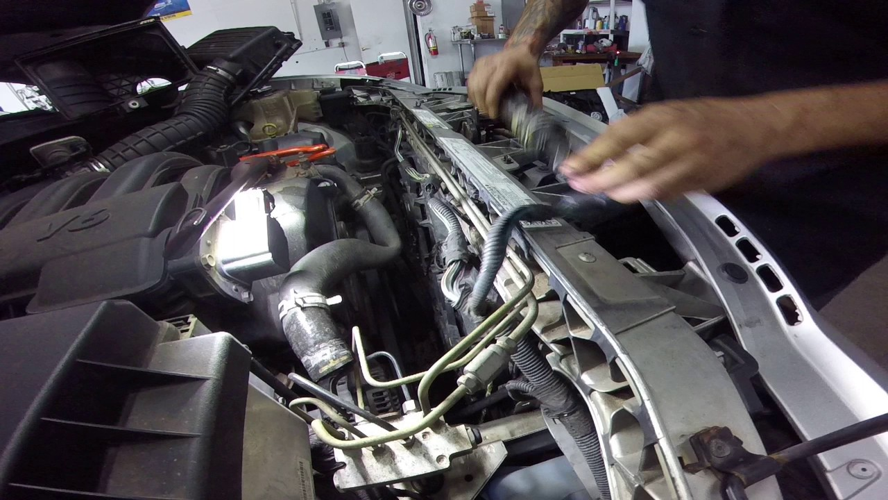 Dodge Charger Cooling Fan Assembly Replacment Youtube 2011 Challenger Fuse Box Diagram