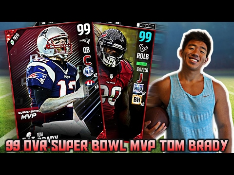 WE GET 99 OVR SUPER BOWL MVP TOM BRADY! FIRST OFFICIAL 99 OVR! MADDEN 17 ULTIMATE TEAM