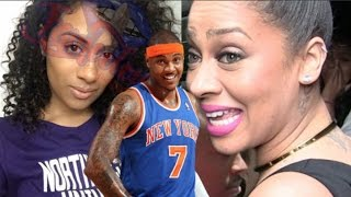 Carmelo Anthony cheated on Lala and impregnated his side chick?! | WOMAN REVEALED (alleged)