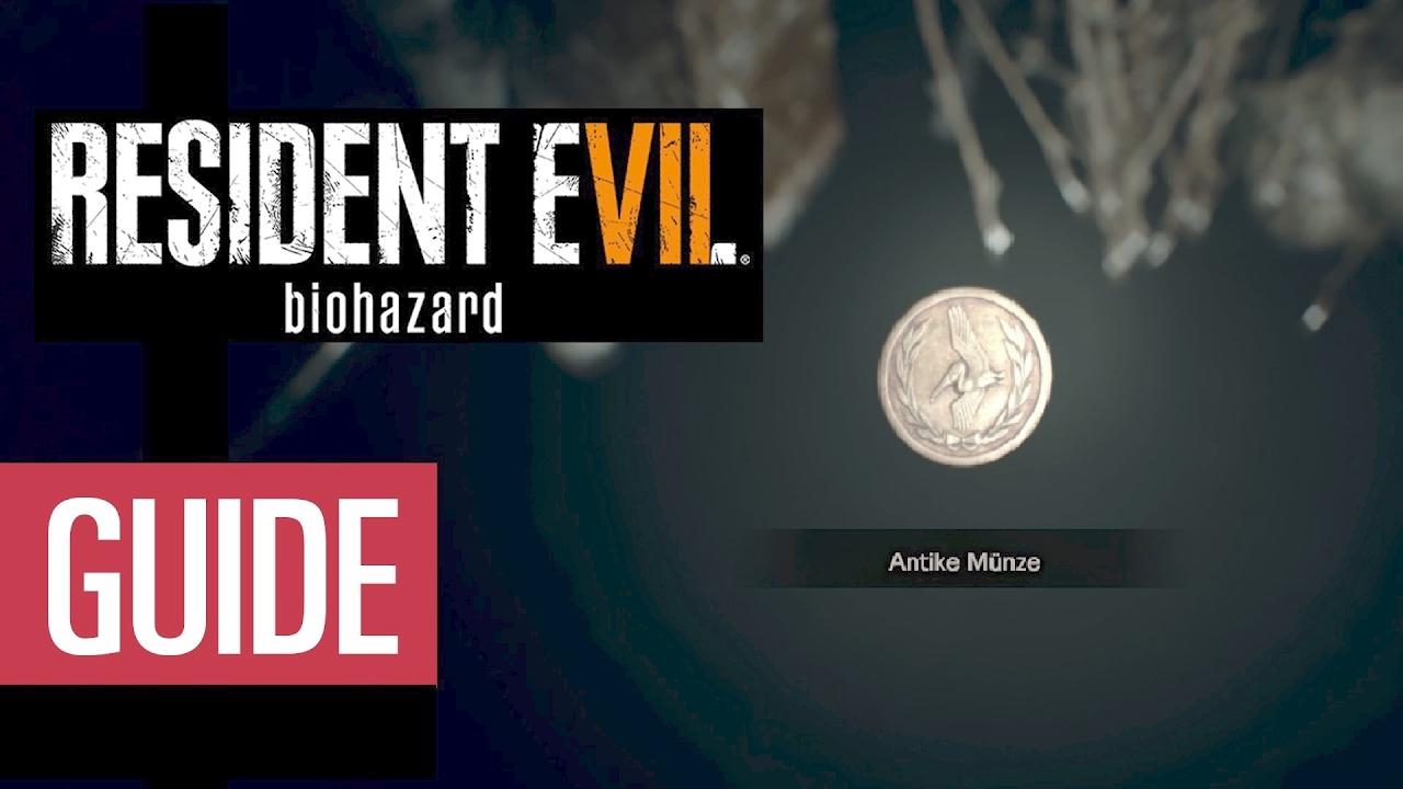 Resident Evil 7 Alle Antiken Münzen Guide Youtube