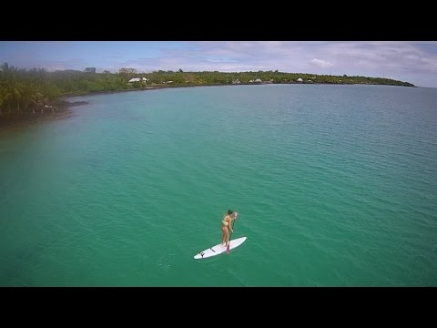 A Samoan Family Holiday From a Bird's Eye Perspective