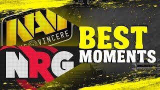 NAVI VS NRG BEST MOMENTS