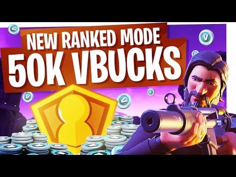New Fortnite Ranked Mode for 50,000 VBucks! - Fortnite Solo Showdown Gameplay