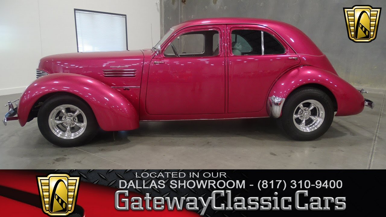1941 Graham Hollywood Supercharged Stock #171 Gateway Classic Cars ...
