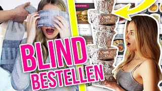 ICH bestelle BLIND Dinge für meinen Freund + SEINE REAKTION | XLAETA