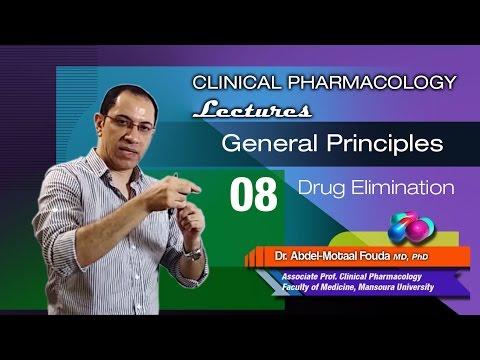 General Principles of Pharmacology - 08 - Drug elimination