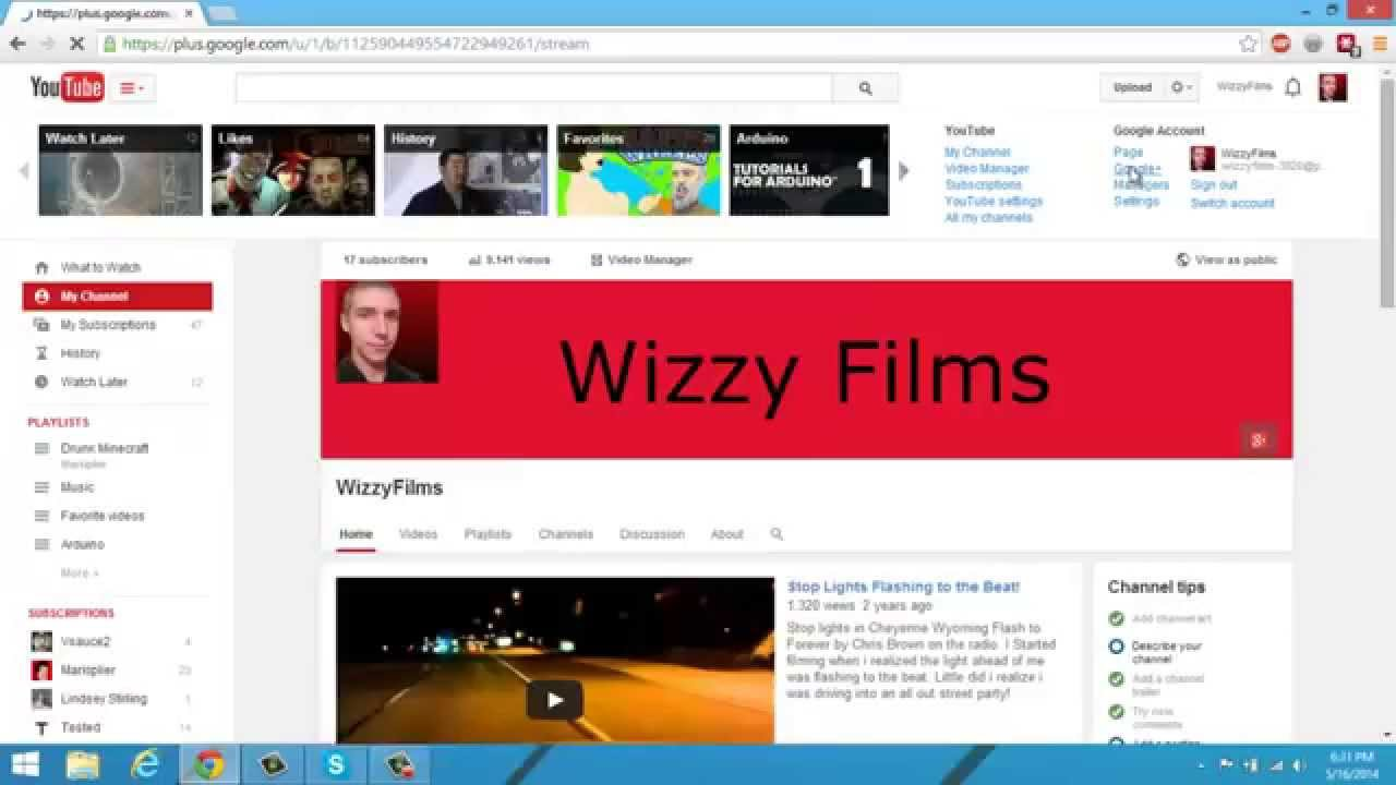 How to delete scrapbook photos google+ - How To Delete Youtube Channel Art Improved 2014