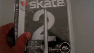 Unboxing Skate 2 (PS3)