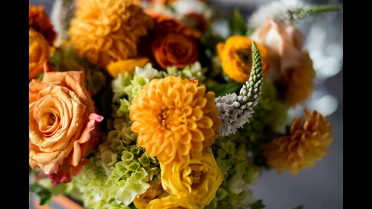 Fall themed flower arrangement with dahlias youtube fall themed flower arrangement with dahlias izmirmasajfo