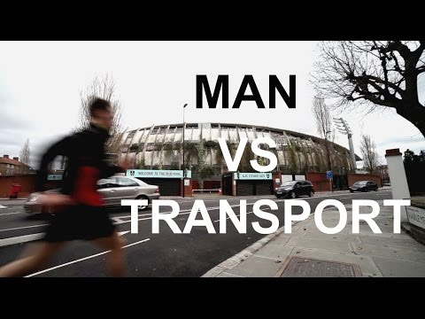 MAN VS TRANSPORT - ULTIMATE Race Across London!