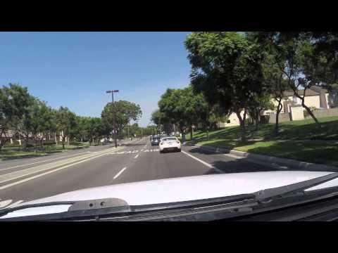 Driving in Irvine California HD 2014