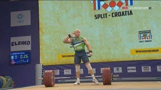 2017 European Weightlifting Championships Men 94 kg \ Тяжелая атлетика Чемпионат Европы [1080]