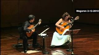 The Beatles-A hard days night-ATHENS MEGARON-Classical Guitars Live-Evangelos Boudounis-Maro Razi