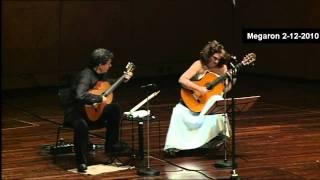 The Beatles-A hard days night-ATHENS MEGARON-Classical Guitars Live-Evangelos Boudounis-Maro Razi