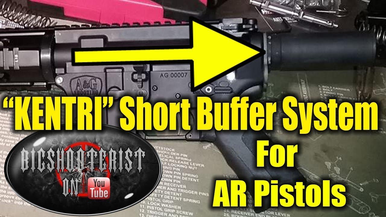 Pantheon Kentri Short AR Buffer System