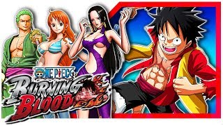 ●🎮 ONE PIECE: Burning Blood 【 PC Steam Gameplay - First Minutes】