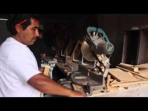 El oficio de carpintero