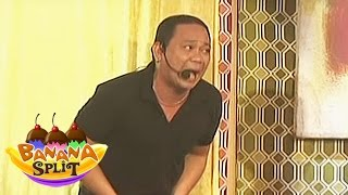 Banana Split: Kuya Jobert Gets Mad With English Words