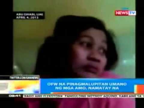 Overseas Filipino worker died in UAE