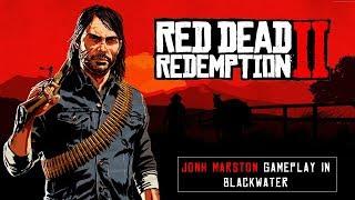 Red Dead Redemption 2 - Jonh Marston Gameplay in Blackwater / Jogando com Marston