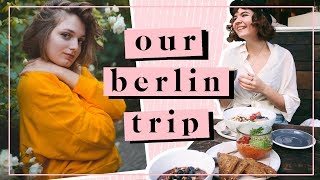 🐝 a chatty video about Berlin : vegan places, art shops and more [english w/ french subtitles]