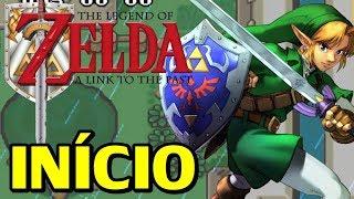 The Legend of Zelda: A Link to The Past & Four Swords (GBA) - O Inicio