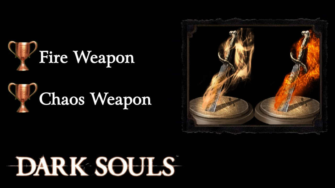 Getting chaos weapons dark souls