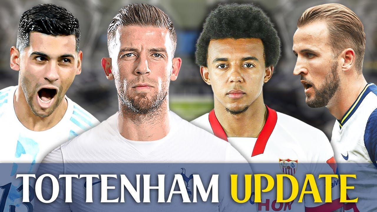 Kane TO MISS Start! • CONFIDENT In Romero Deal • Toby To Sign 3 Year Qatari Deal [TOTTENHAM UPDATE]