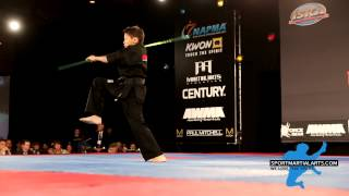 Kieran Tamondong - 13 & Under Boys Weapons ISKA World Championship - US Open 2014