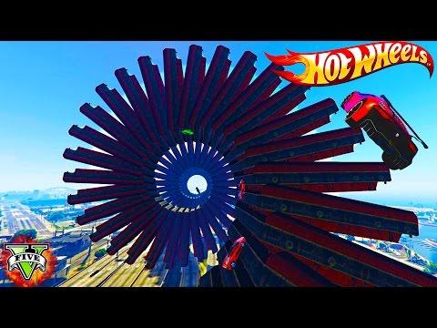 GTA 5 HOT WHEELS RACING!!! - EPIC GTA 5 Hot Wheels Track Playlist LiveStream! - GTA5 Funny Moments