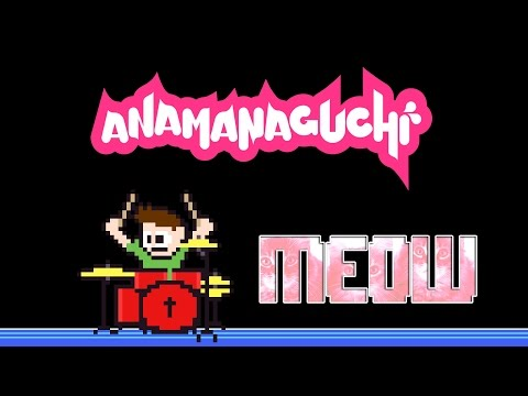 Anamanaguchi - Meow (Drum Cover) -- The8BitDrummer