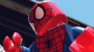 LEGO Marvel Super Heroes Spider-Man Gameplay PC Demo
